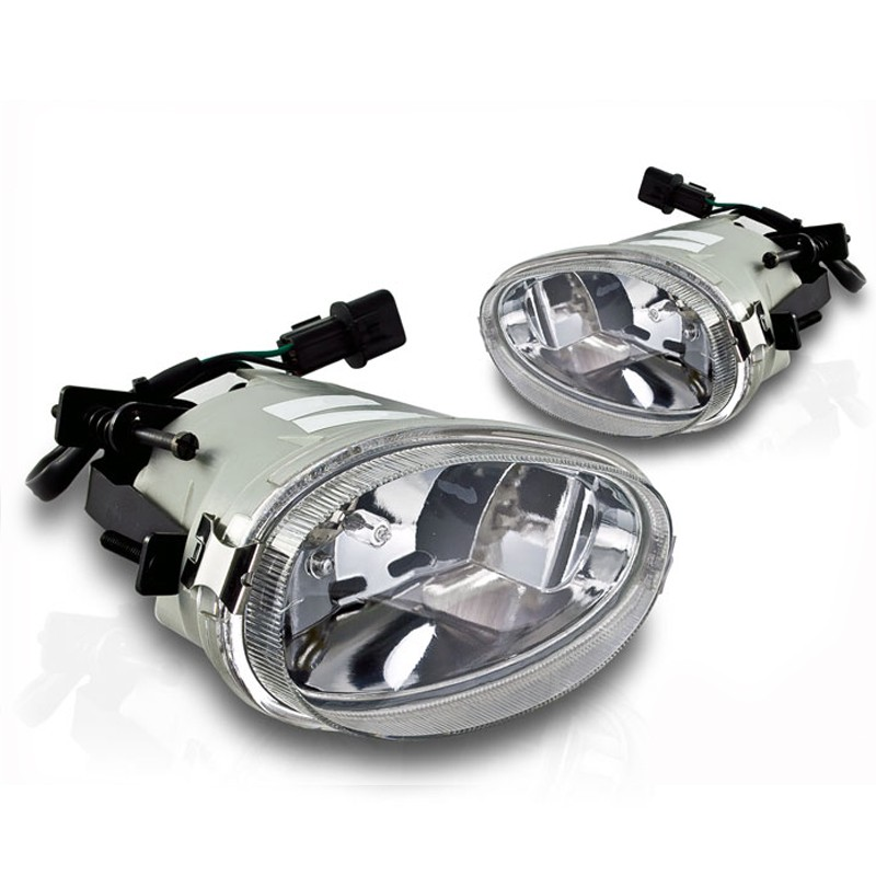 Winjet 1998-1999 Hyundai Accent OEM Style Fog Lights - Clear
