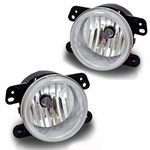 Winjet 2007-2011 Jeep Wrangler Fog Lights - Clear