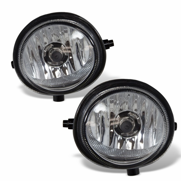 Winjet 2006-2010 Mazda 5 Fog Lights - Clear