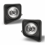 Winjet 2014-2015 Toyota Trundra Fog Lights - Clear [Wiring Kit Included]