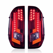 Winjet 2014-2019 Toyota Tundra Performance LED Tail Lights - Red