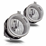 Winjet Dodge Charger Challenger Avenger OEM Style Replacement Fog Lights - Clear