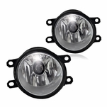 Winjet Toyota Corolla Camry 4Runner Prius Tacoma / Lexus IS RX LX Fog Lights - Clear