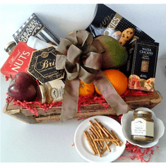 Anniversary Fruit Gift Basket For Him
