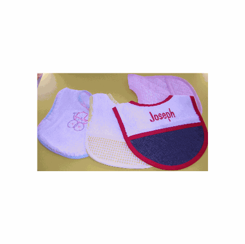 Baby Name Bibs