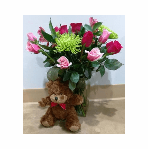 bear and arrangement