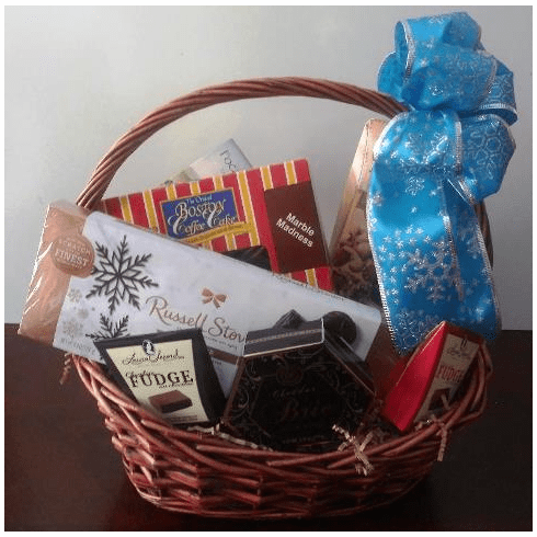 Birthday Christmas Gourmet Food Gift Basket