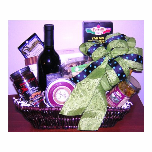 Bosses Day Cheese Gift Basket