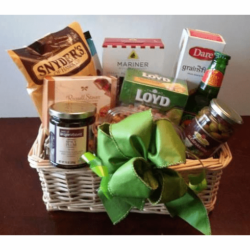 Boston Classic Holiday Gift Basket Goodies