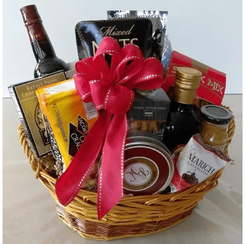 Christmas Gift Basket for him