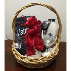 Christmas Gift Basket  Patriots Theme gift ideas