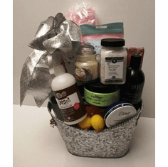 Christmas Spa Gift Basket Idea for her