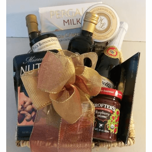 Extra Olive Cooking Oil Housewarming Gift Basket