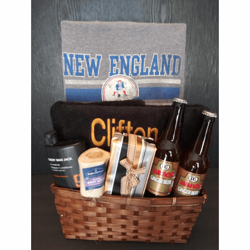 Father's Day New England Theme Gift Basket