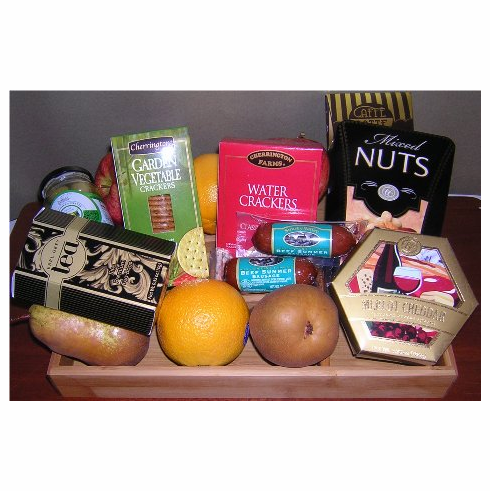 Fruit-Basket Christmas Gift
