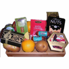 Fruits-Nuts-Gourmet basket