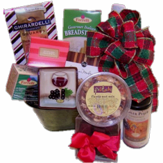 Gourmet Gift Basket-free delivery