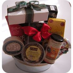 Gourmet Treat-Valentine's Day Gift Basket