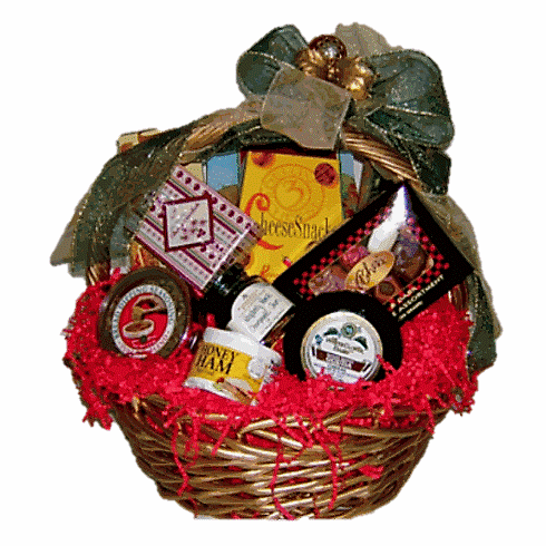 Ham-Cheese Gift Basket (free delivery)