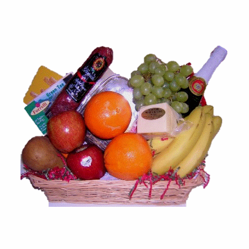 Holiday Fruit  Gift Basket