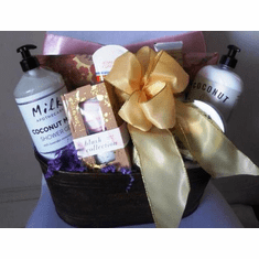 Holiday Spa Gift Basket For Her