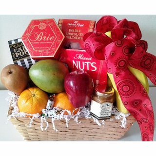 KJ Fruit and Cheese Basket