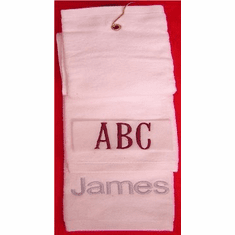 Personalize Glof Towels