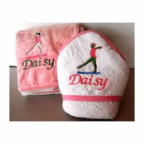 Personalize hooded towel