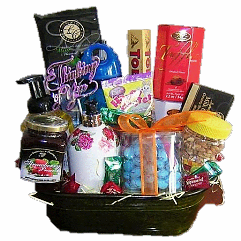 Spa Gift Basket - Christmas Gift Basket