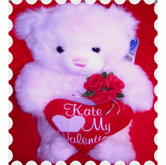 Valentine's Day Personalize Teddy Bear