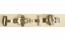 20/22MM DEPLOYANT CLASPS WITH PUSH BUTTON