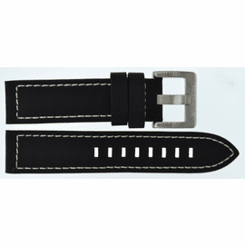 22MM PILOTS BALLISTIC NYLON STRAP WITH SS OR PVD BUCKLE