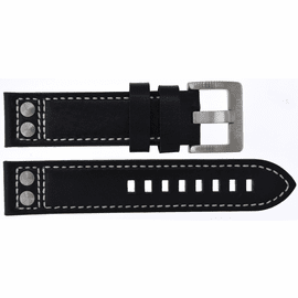 22MM PILOTS LEATHER RIVETS STRAP