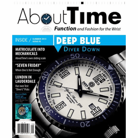 About Time August/September 2013 Deep Blue Cover Story