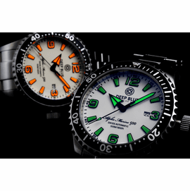 ALPHA MARINE 500 Lume Dial collection