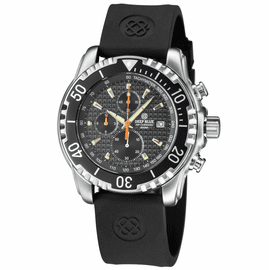 AP CHRONOGRAPH ALL PURPOSE QUARTZ DIVER BLACK DIAL