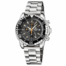AP CHRONOGRAPH ALL PURPOSE QUARTZ DIVER BLACK DIAL BRACELET