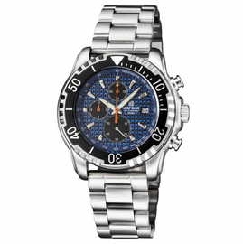 AP CHRONOGRAPH ALL PURPOSE QUARTZ DIVER BLUE BRACELET