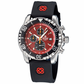 AP CHRONOGRAPH ALL PURPOSE QUARTZ DIVER RED