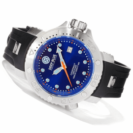 Blue Juggernaut Quartz 1000m Diver Silicon
