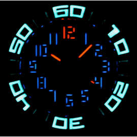 BLUETECH ABYSS II  T-100 TRITIUM SWISS AUTOMATIC-LUMINOUS PICTURE