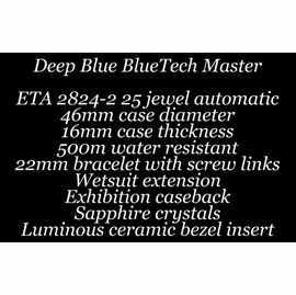 BlueTech Master 500 Video