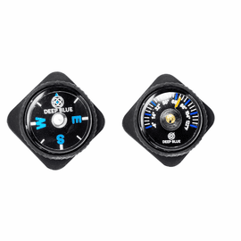 COMPASS AND THERMOMETER FITS ANY 22MM STRAP