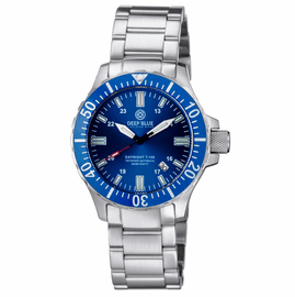 DAYNIGHT 45 TRITDIVER T-100 AUTOMATIC BLUE BEZEL �DARK BLUE DIAL
