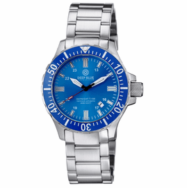 DAYNIGHT 45 TRITDIVER T-100 AUTOMATIC BLUE BEZEL � LIGHT BLUE DIAL