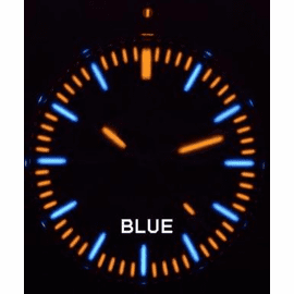 Daynight 65 T-100 Automatic – 65 Tritium Blue Dial