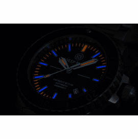 Daynight 65 T-100 Automatic – 65 Tritium Tubes Blue Dial