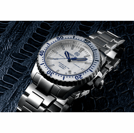 Daynight 65 T-100 Automatic – 65 Tritium Tubes Silver Bezel Silver  Dial
