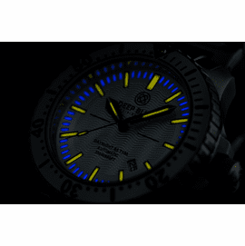 Daynight 65 T-100 Automatic – 65 Tritium Tubes Silver Dial