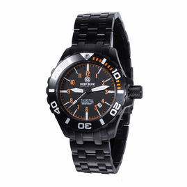 Daynight  Bracelet T100 Diver-  PVD- ORANGE